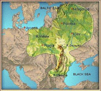 Slovenska mitologija - Page 3 SlavsMap